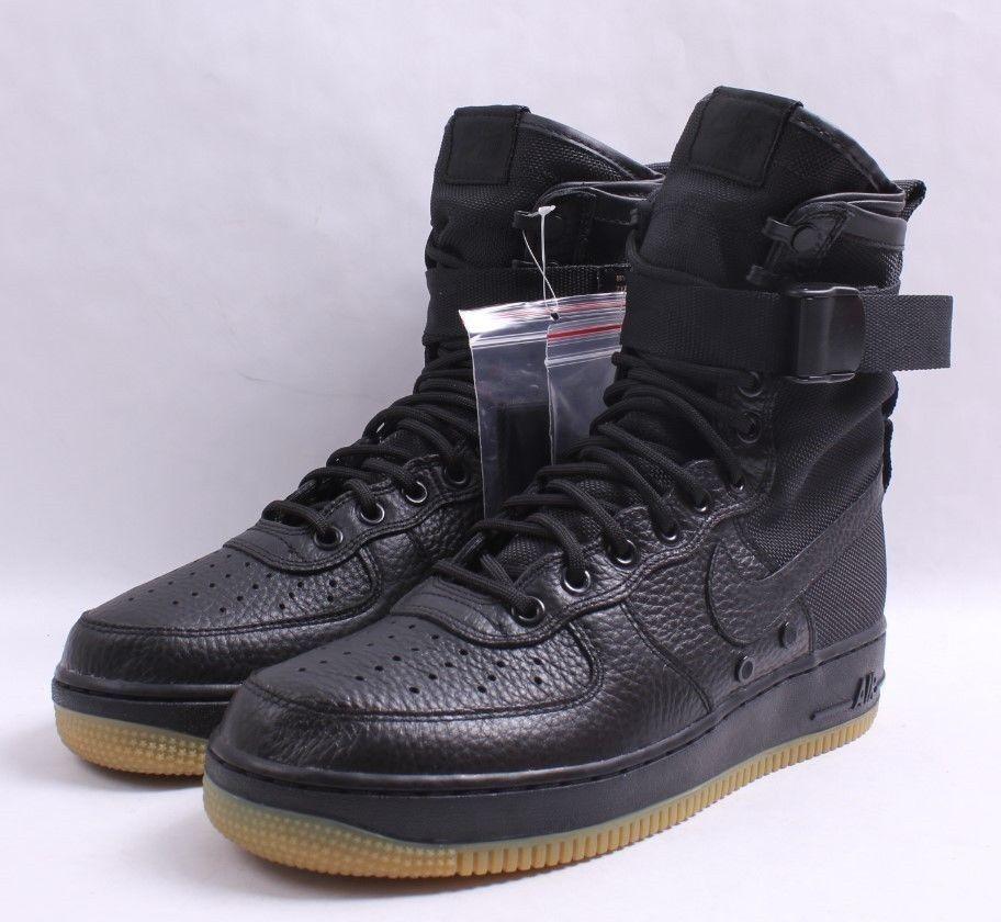 Nike SF AF1 Black & Gum Bottom Men SZ 7.5 - 13