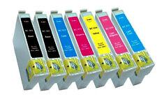 Pack 7 Compatibles genérico Epson PHOTO P50 PX650 PX650W PX700W PX710
