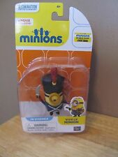 """Minions Movie Exclusive Poseabe 2 1/2"""" Figure~Vive Le Minion~New in Package!"""