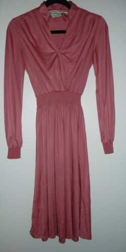 Young Edwardian by Arpeja Women's Pink Dress Vinta