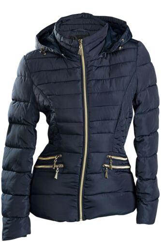 Top Donna Invernale Giacca Corta Stepper PIUMINO ottica di transizione giacca cappuccio Giacca sci