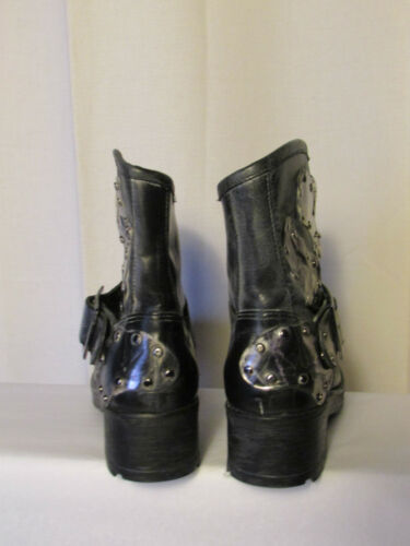 Antracite Mooz Miz E stivali Stivali Grigio 36 Pelle Metallo qgEwXnx5v