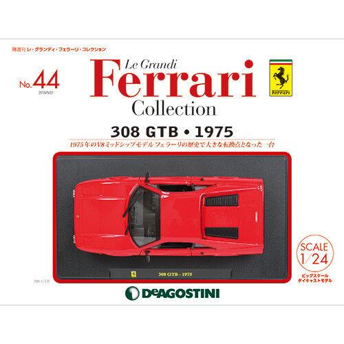 DeAGOSTINI  Le Grandi Ferrari collection No.44 avec 308 GTB 1975 1 24 Magazine  très populaire