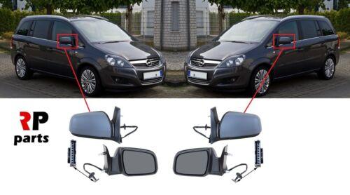 Neuf Vauxhall OPEL ZAFIRA B 08-11 Aile Miroir Chauffant Électrique amorcé Paire Set LHD