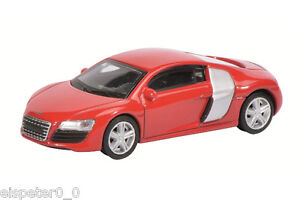 Audi-R8-Coupe-Red-Schuco-Car-Model-1-64