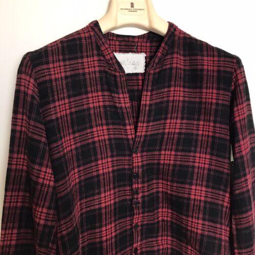 GREG LAUREN Woman's Flannel Studio Shirt 3