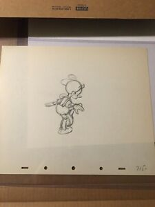 PINOCCHIO DRAWING (cel?)1940 Walt Disney prototype early design original # 715
