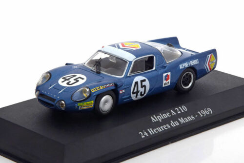 alpine a 210 le mans 1969 numero 45 Jean-Claude Killy  Bob Wollek 1//43