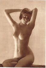 1920's Vintage German Female Nude Model Art Deco Reinhard Photo Gravure Print