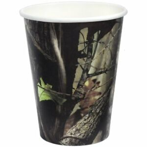 Next Camo Outdoors Hunting Camouflage Theme Birthday Party 12 oz. Paper Cups