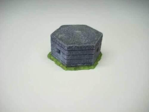 WWII Concrete pill box Resin Model 1//72 scale 20s05