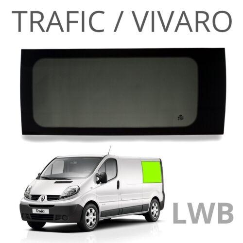 privacy for Trafic Long wheel base Left rear quarter window