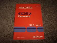 Hitachi Excavator EX35U EX 35 U Factory Original Parts Catalog Manual 230001-