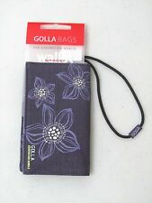 Golla Bags Wristlet for Smart Phone, ID, Cash, Cards, MP3 in Purple