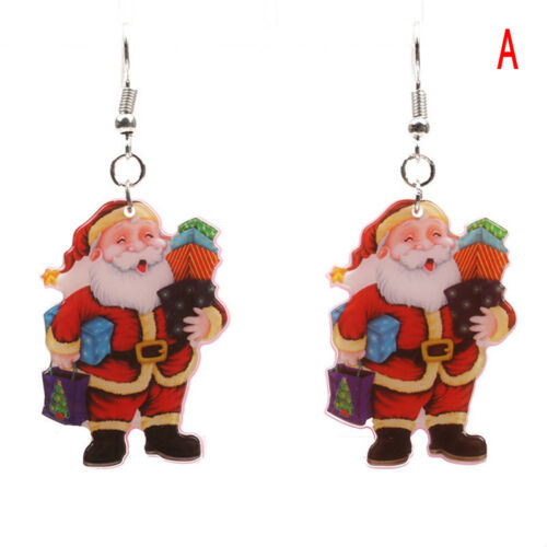 Christmas Santa Claus Drop Dangle Earrings Ear Stud Earrings Gift Womens/'Jewelry