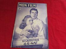 MON FILM  Magazine inc Jane GREER Victor MATURE & Coleen GRAY 09/03/1949  No 133