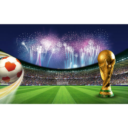 World Cup Football Photography Backdrops Background Cloth Prop Photo Studio UK