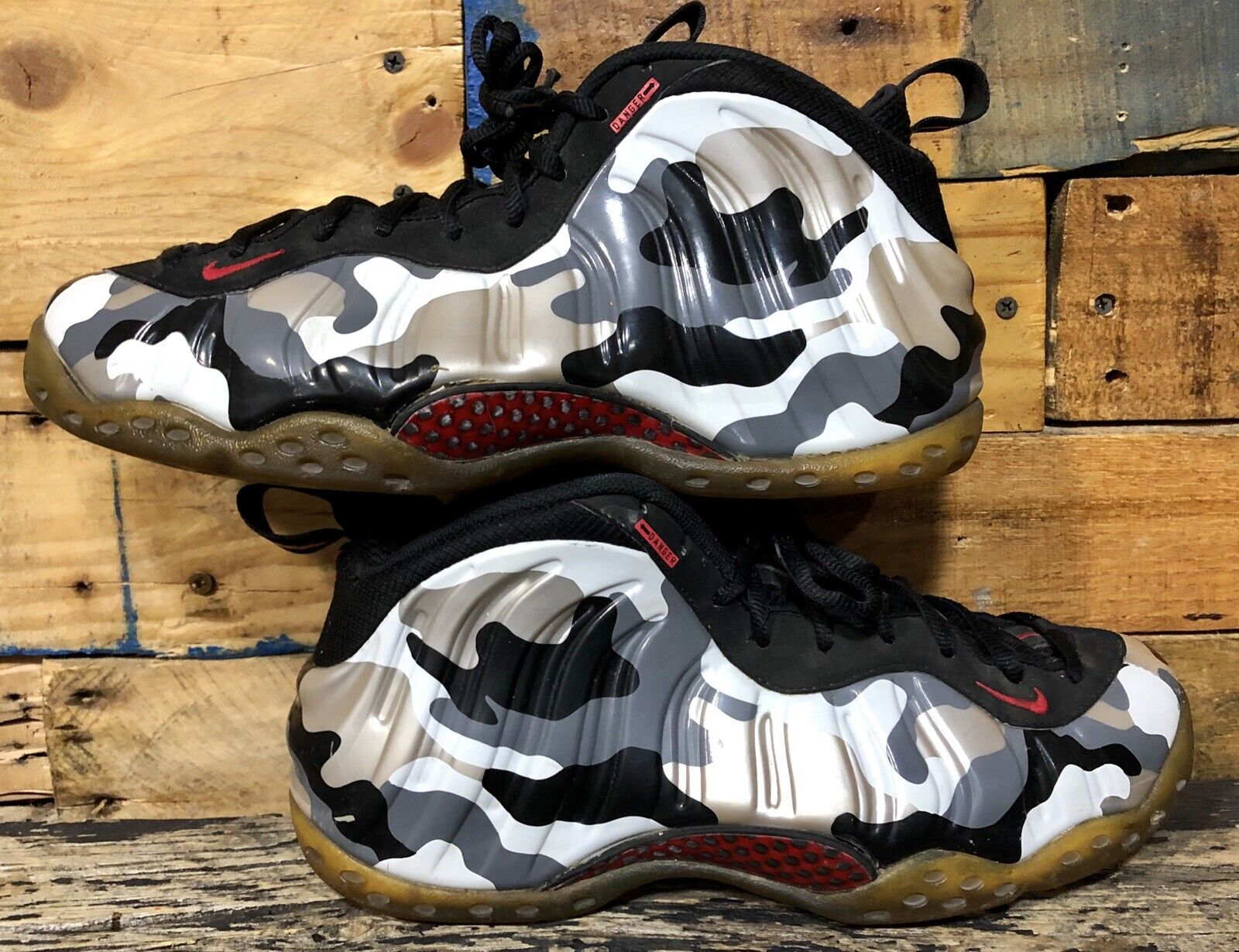 newest 23d58 75cb5 Nike Foamposite One Fighter Jet Sz11 BLACK HYPER RED 575420 001 Camo Read D  Air nqnaet2949-Men s Athletic Shoes