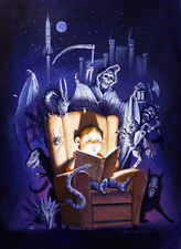Dorian Cleavenger Original Painted Artwork: Nightmare