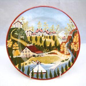 """Sonstige Porzellan & Keramik Unparteiisch Block Gear Country Village """" Sommer Salatteller S 19.7cm"""