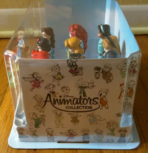 Details about  /Disney Store Animators/' Collection Deluxe Figurine Play Set  **NEW /& SEALED**