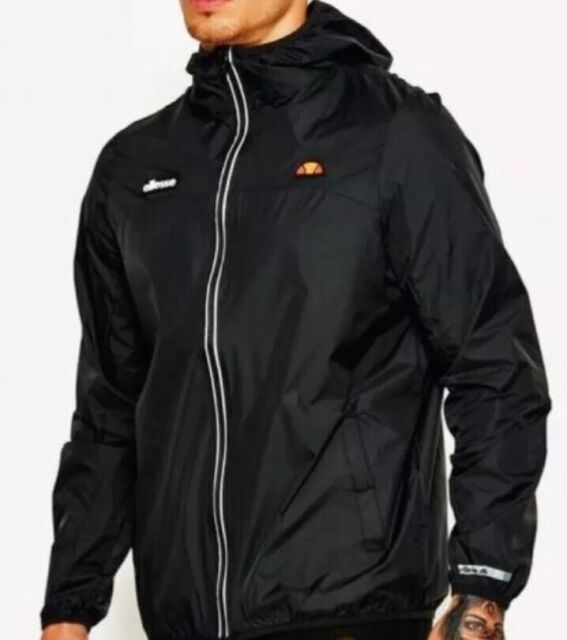 good service the cheapest new ellesse Jacket Sortoni Mens Anthracite Zip Through Lightweight Coat L