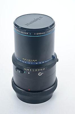 Mamiya RZ67 250 mm f4.5 APO Sekor Z Lens RZ-67                              #415