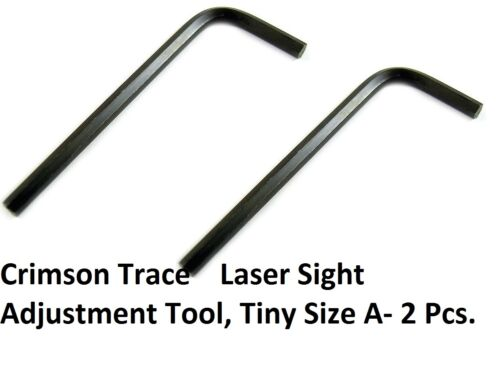 Crimson Trace Laser Sight Adjustment 2 Pieces Allen Wrench Hex Key Tiny Size!!