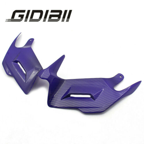 Aerodynamic Winglets Front Fairing Spoiler Race Cover Fins For YAMAHA YZF R3 R25