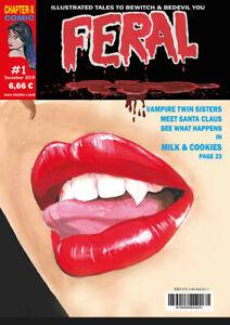 Feral #1 - Deutsche Ausgabe SW Horror Comic - deutsch - NEUWARE