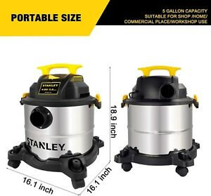 Wet Dry Vac For RV Garage Portable Powerful Vacuum Home ...