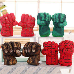 Spiderman-Iron-Man-Hulk-Smash-Hands-Cosplay-Gloves-Punching-Boxing-Fists-Toys