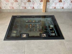 Hinged Walk On Glass Floor Wine Cellar Trap Door Glazing