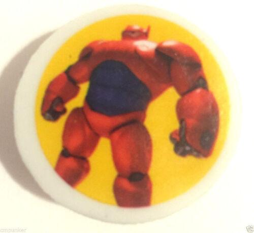 Lot of 5 Big Hero 6 Movie Eraser Pencil Tops Party Favors Bag Fillers