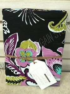 Pottery Barn Teen Boho Floral Flowers Blooms Bed Dorm Duvet Cover Twin Black Ebay