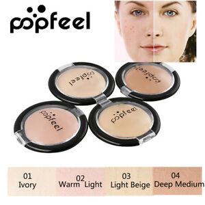 Image is loading POPFEEL-Full-Coverage-Cream-Face-Contouring-Makeup-Silky-