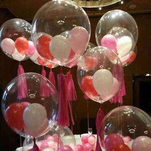 10pcs-Bobo-Balloon-Transparent-PVC-Balloon-DIY-Wedding-Birthday-Party-Decoration
