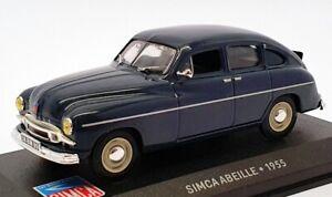 ALTAYA AUTO modello IN SCALA 1/43 AL17221C - 1955 SIMCA ABEILLE-Blu