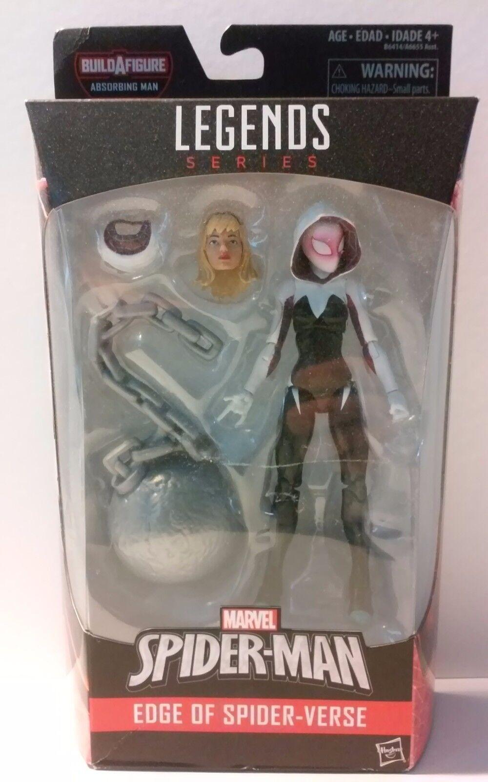 Marvel Legends Spider-Gwen MIP Absorbing Man BAF series