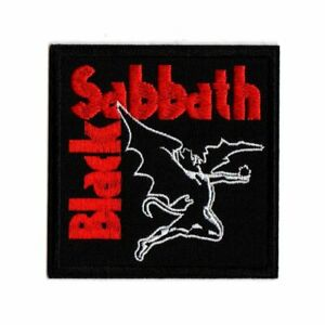 Black Sabbath patch DIY printed patches Ozzy Osbourne hard rock heavy metal band