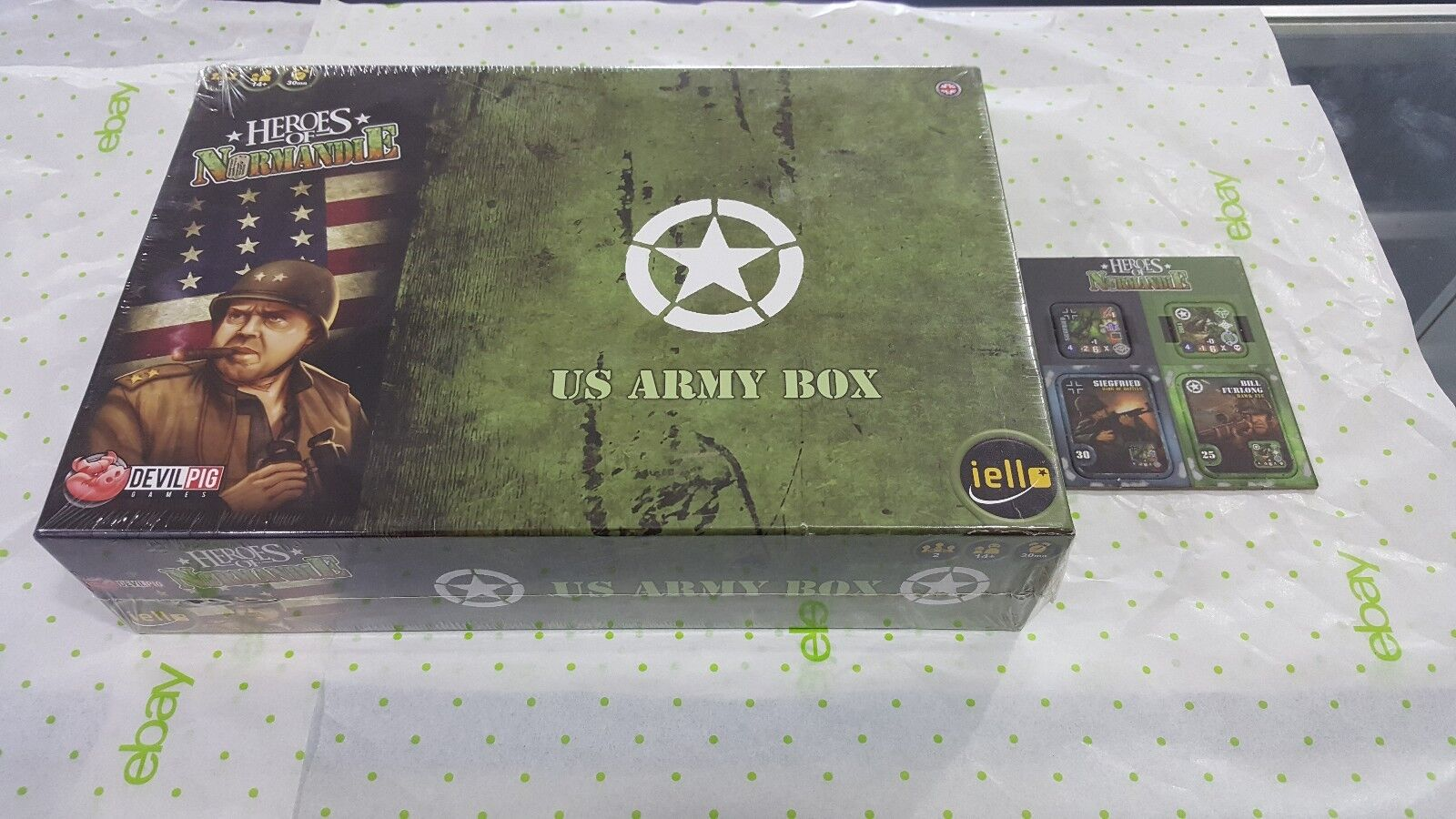 Heroes Of Normandie US Army Box + Siegfried & Bill Furlong