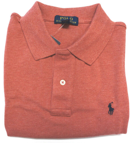 RALPH LAUREN Boys Mesh Polo Shirt Size 8 Short Sleeve Top