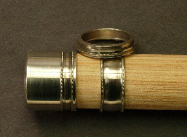 Fly Rod Reel Seat Nickel Silver Cap Ring Hardware | eBay
