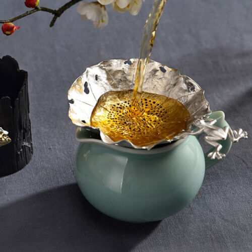 1pc Silver Leaf//Dragonfly//Frog Tea Strainers Filter Infuser Diffuser Herbal Deco
