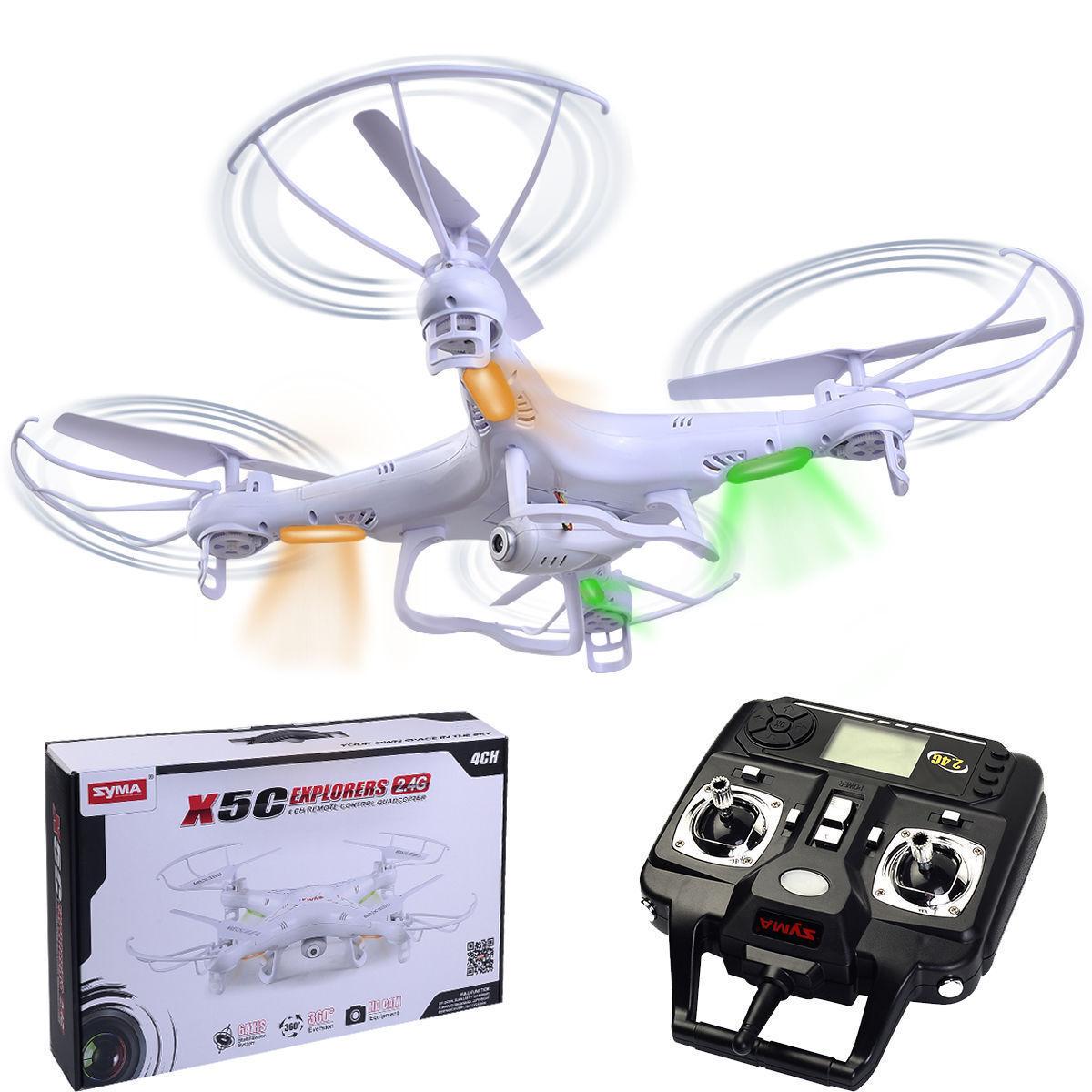 Upgraded Upgraded Upgraded Syma X5C-1 2.4Ghz 6-Axis Gyro RC Quadcopter Drone UAV RTF UFO HD Camera 191286