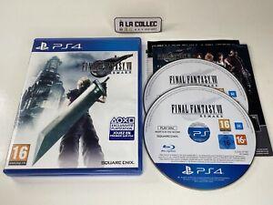 Final Fantasy VII 7 Remake - Jeu Sony Playstation 4 PS4 (FR) - Complet
