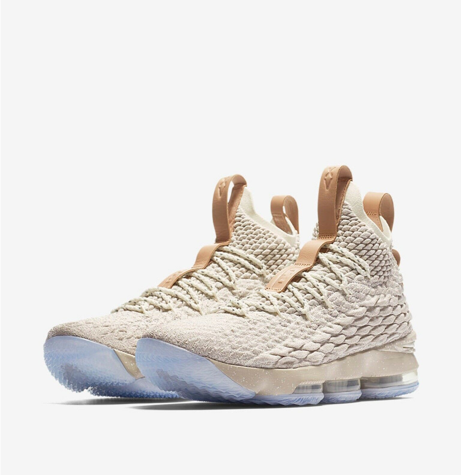NEW AUTHENTIC NIKE LEBRON 15 GHOST SIZE 8.5  DEAD STOCK