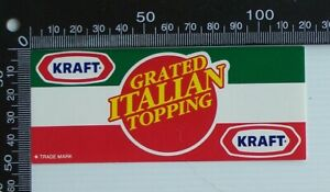 VINTAGE-KRAFT-GRATED-ITALIAN-TOPPPING-CHEESE-ADVERTISING-PROMO-LABEL-STICKER