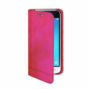 Custodia-Flip-portadocumenti-per-Samsung-Galaxy-J1-2016-Colore-Fuscia