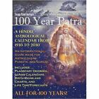 100 Year Patra Panchang Vol 1 Vedic Science Astrological Calendar From 1930